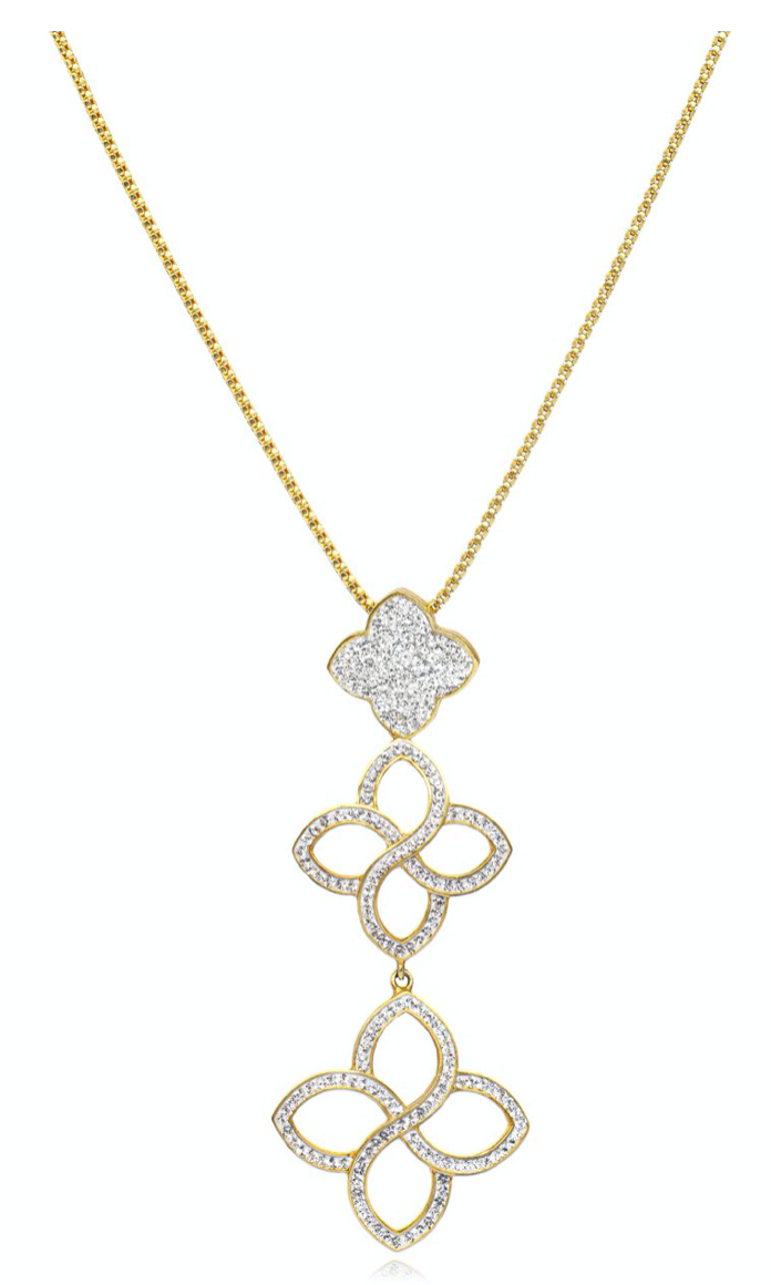 La Costa Flower Cascade Pendant Necklace