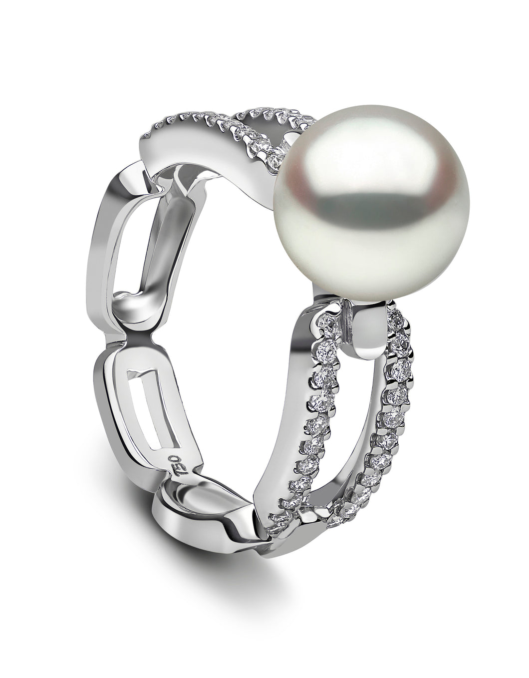 Yoko London 18K Diamond South Sea Pearl Ring