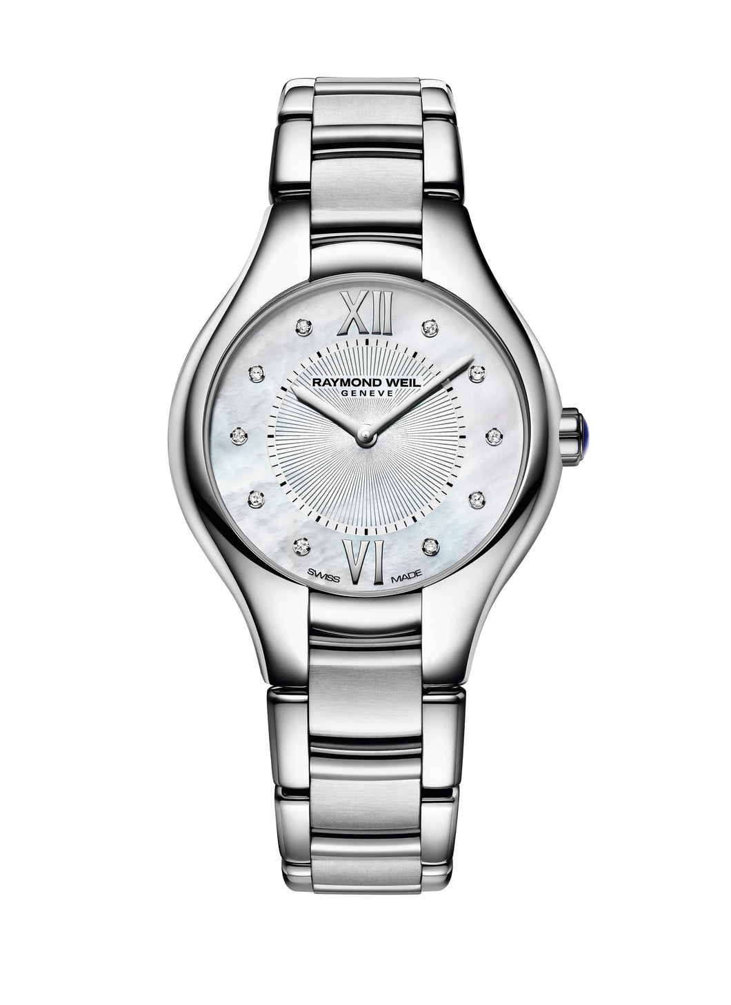 Raymond Weil Noemia Diamond Mother Of Pearl Watch