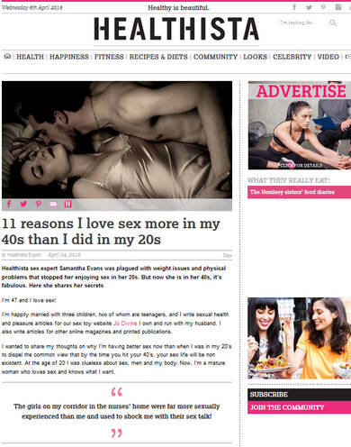 11 reasons I love sex more in my 40s than I did in my 20s - Healthista