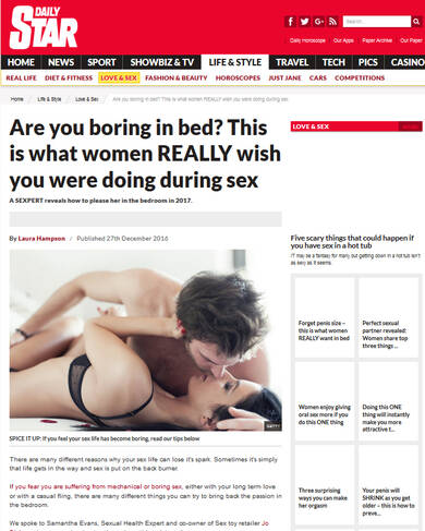 Boring in bed? This is what women really wished you would do in bed - Daily Star