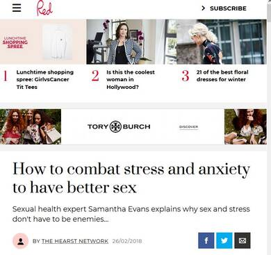 How to combat Anxiety and Stress to enjoy Better Sex -RedOnline