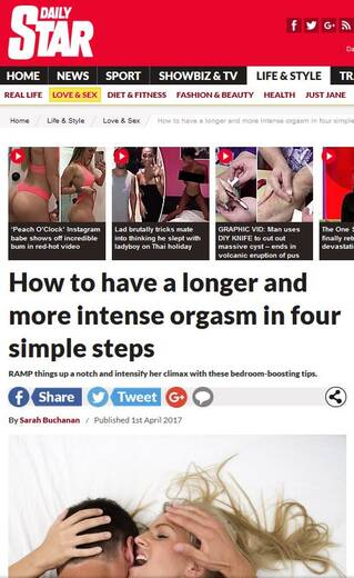 How to have a longer and more intense orgasm in 4 simple steps -Daily Star
