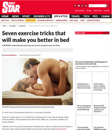 Seven exercise tricks that will make you better in bed - Daily Star