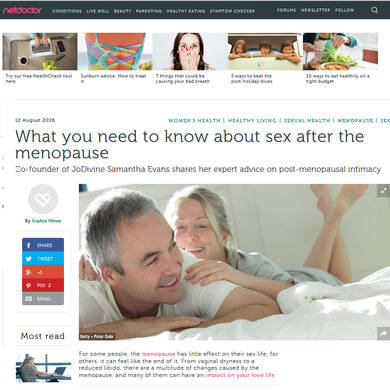 What you need to know about Sex after the Menopause - NetDoctor