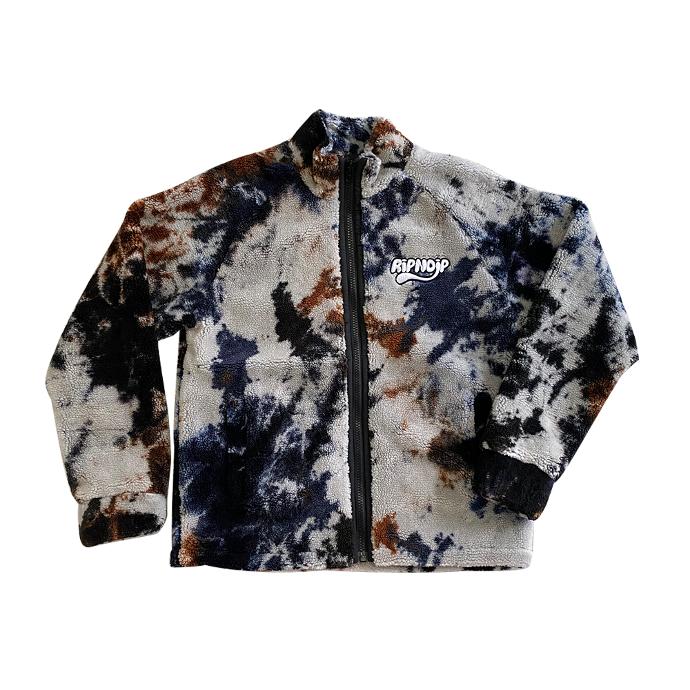 RipnDip Jacket Camo Fleece