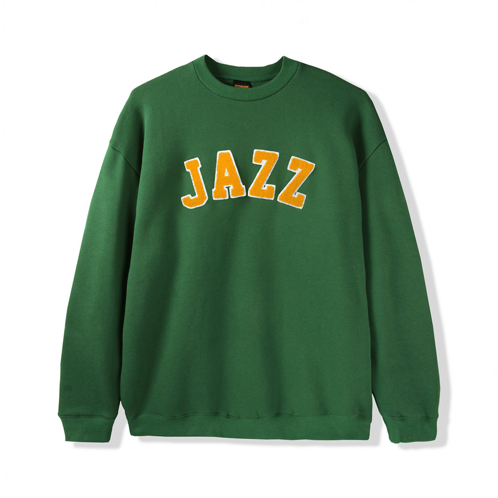 Butter Goods Jazz Applique Crewneck Sweater