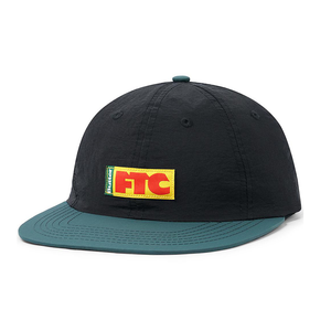 Butter Goods x FTC Flag 6 panel cap black/forest