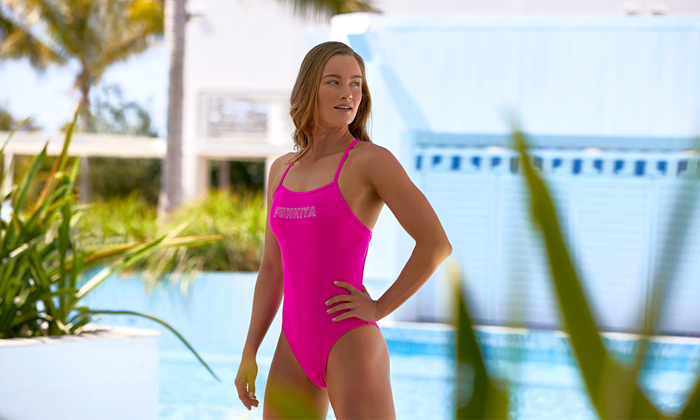 Womens Tie Me Tight One Piece Candy