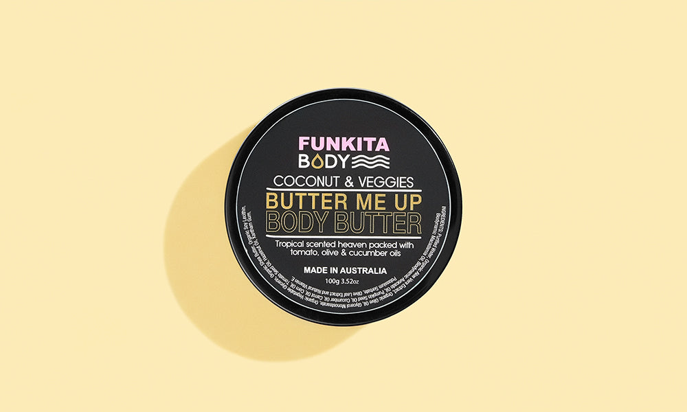 Womens Butter Me Up Body Butter Coconut & Veggies