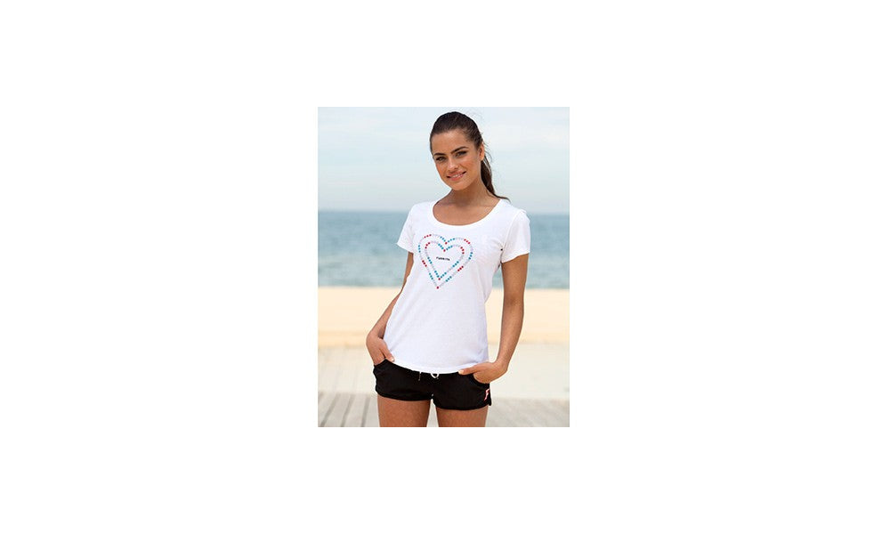 Girls Scoop Neck T-Shirt Other Heart Lane Rope