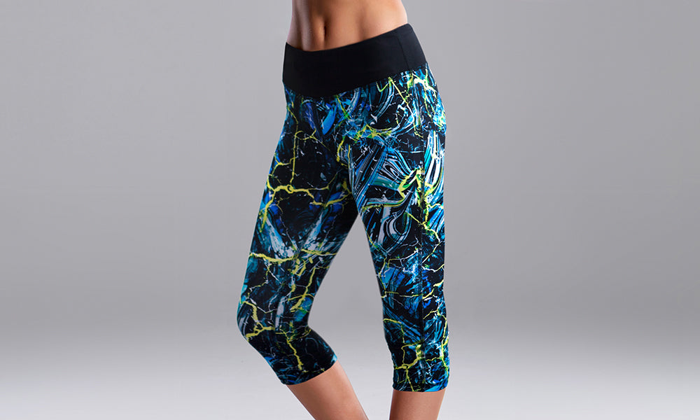 Womens Rapid Racer Tight Midnight Marble