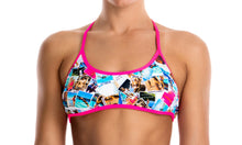 Load image into Gallery viewer, Womens Tie Down Bikini Top Pic Mix