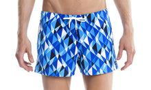 Load image into Gallery viewer, Mens Shorty Shorts Short Platinum Power