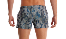 Load image into Gallery viewer, Mens Shorty Shorts Short Pointillism
