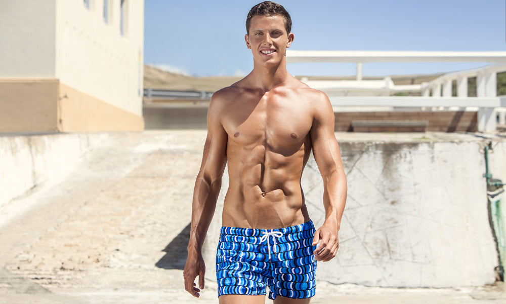 Mens Shorty Shorts Short Sea Sculptures