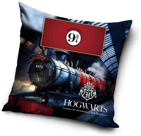 Harry Potter Hogwarts Express Kissenhülle 40 x 40 cm Kissenbezug Pillowcase