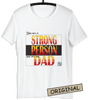 ⭐ Strong Person T-shirt White (Customize it)