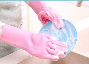 All ROUNDER MAGIC WASHING GLOVES REUSABLE (Kitchen, Home, Pet, Car)