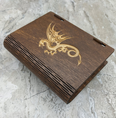Dice Box - Solid Wood with Living Hinge