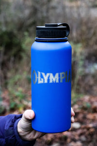 Stainless Steel Water Bottle - Olympia design