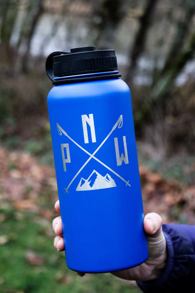 Stainless Steel Water Bottle - PNW