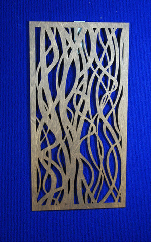 Wood Panel Wall Art - flowing design