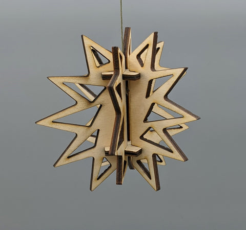 3D Ornament - Crystal design