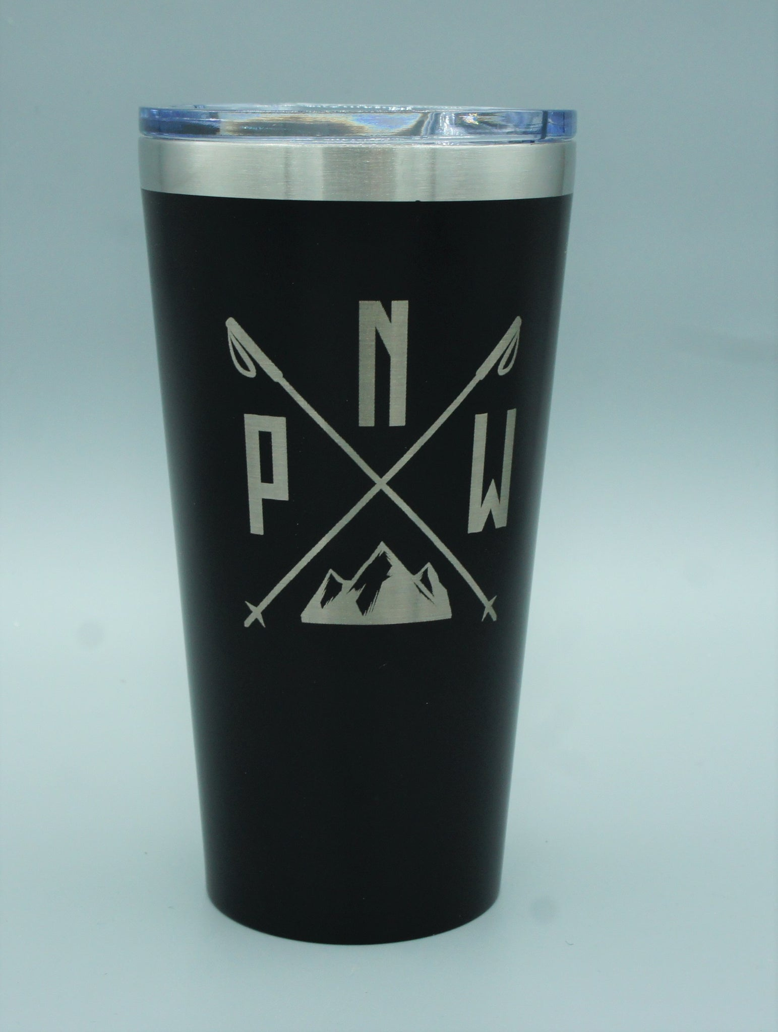 Stainless Steel Pint Glass - PNW