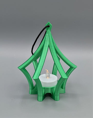 3D Printed Ornament - Green Lantern design