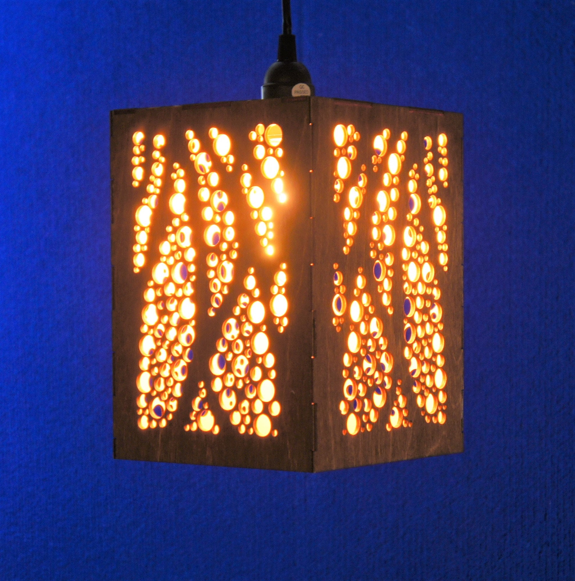 Hanging Lamp - Bubble Leaf design