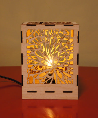 Desk Lamp - Flower Burst design
