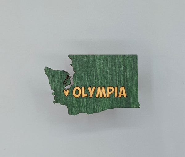 Magnet - Wood Olympia design