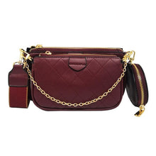 Load image into Gallery viewer, Double Flap Chain Crossbody Bags