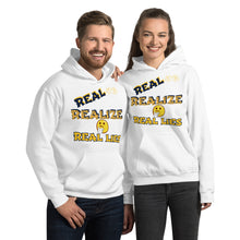 Load image into Gallery viewer, Real Eyes Realize Real Lies Unisex Hoodie