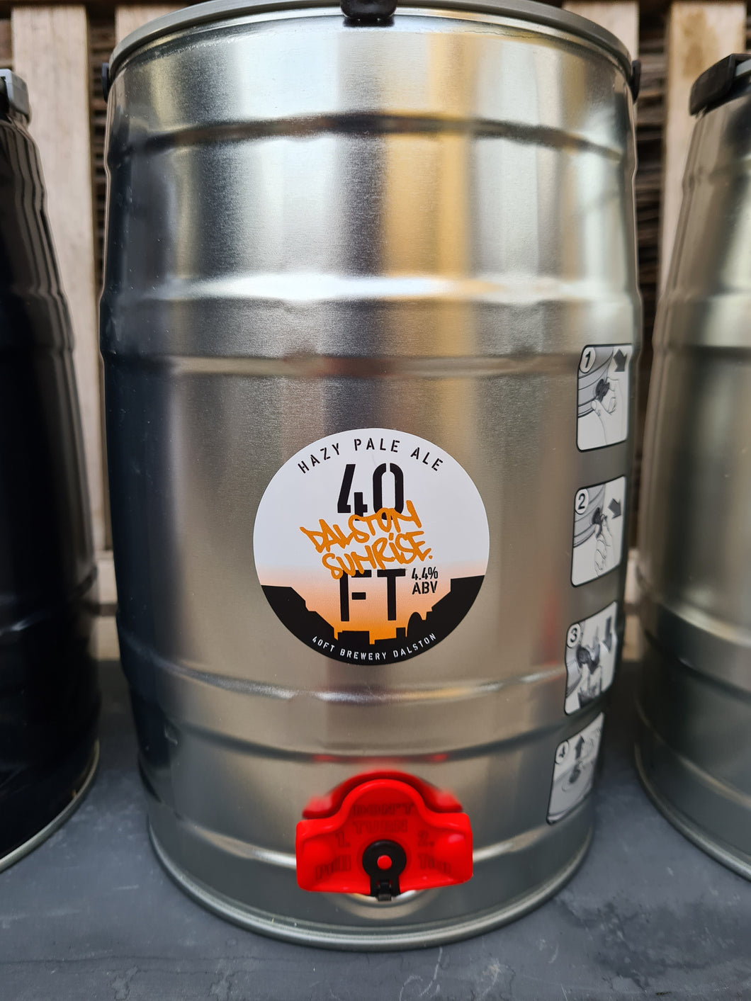 40FT - Dalston Sunrise Mini-Keg - 4.4% ABV (5Ltr)