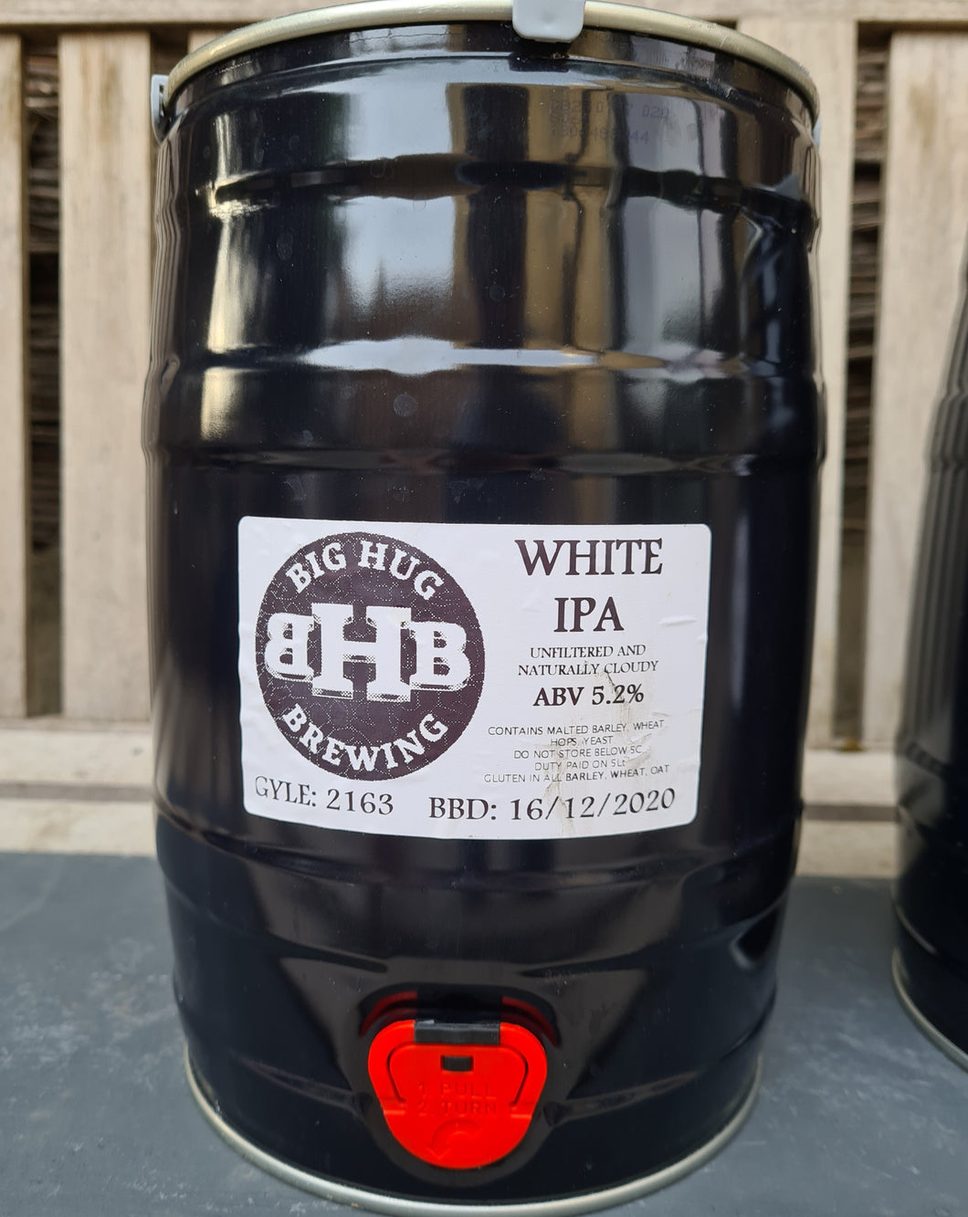 Big Hug - White IPA Mini Keg - 5.2% ABV (5Ltr)