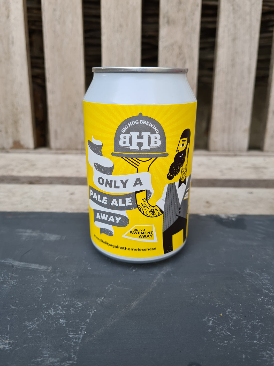 Big Hug -'Only A Pale Away' Pale Ale - 4.6% ABV (330ml)