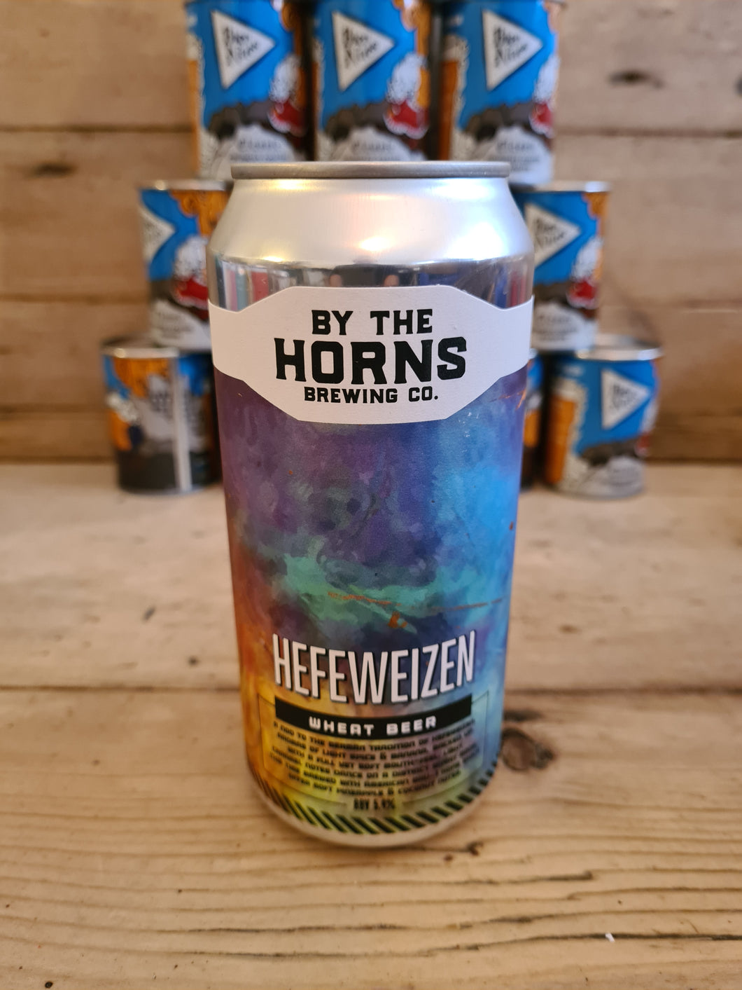 By The Horns - Hefeweizen - 5.9% ABV (440ml)