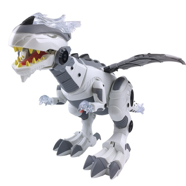 Large Spray Mechanical Dinosaurs With Wing Cartoon Electronic Walking Animal Model Dinosaurio juguete Robot Pterosaurs Kids Toy