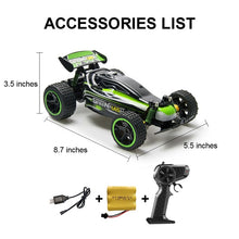 Load image into Gallery viewer, Sinovan RC Car 20km/h High Speed Car Radio Controled Machine Remote Control Car Toys For Children Kids RC Drift wltoys
