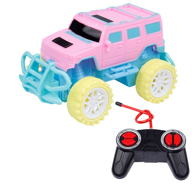 Kids Toy Car Four-way Remote Control RC Car 1:43 Electric Wireless Remote Control Buggy Model Kids Toys Boy Girl Birthday Gift