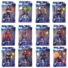 Load image into Gallery viewer, NEW LED Black Panther Thanos kids marvel Captain America Thor Iron Man Spiderman Hulk Avengers action Figure toys Model Doll