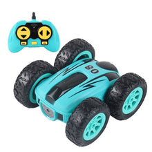 Load image into Gallery viewer, 3.7 inch RC Car 2.4G 4CH Drift Stunt Double-sided bounce Stunt Car Rock Crawler Roll Car 360 Degree Flip Kids Robot RC Cars Toys