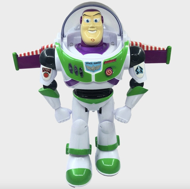 Disney Toy Story 4 Juguete Woody Buzz Lightyear music/light with Wings Doll Action Figure Toys for Children Birthday Gift S03