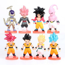 Load image into Gallery viewer, 8/16/21pcs/lot Action Figure DBZ Super Saiyan Son Gokou Veget a Frieza Vegetto PVC Anime Figure Collectible Model Toy Gift