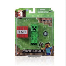Load image into Gallery viewer, 2020 Minecraft Steve Creative Peripheral Game Model Toys Action Figures Toys Birthday Christmas Gift for Kids Unisex