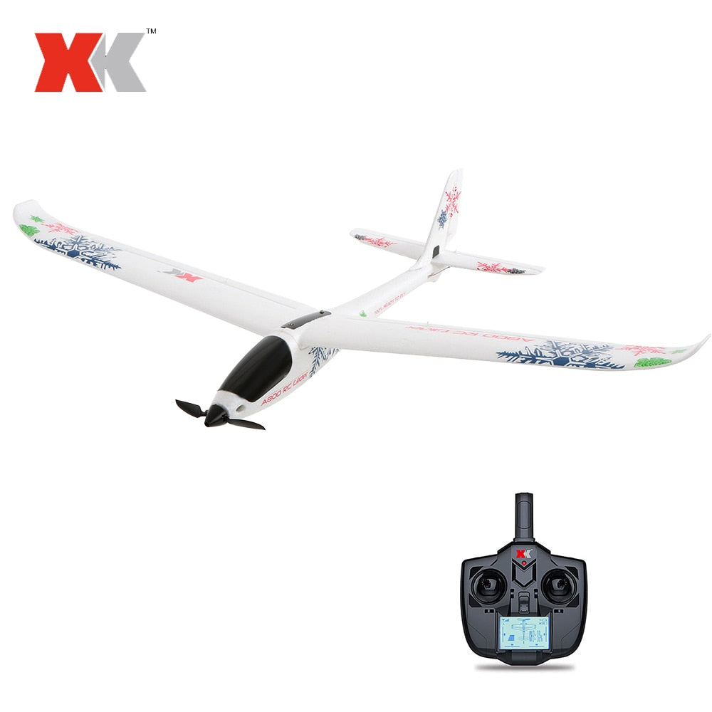Wltoys XK A800 RC Airplane 780mm Wingspan 5CH 3D 6G Mode EPO Aircraft Fixed Wing RTF Toys for Kids 20min Flight Time