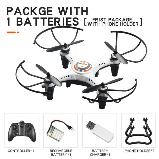 JX815-2 Mini Drone 2.4G RC Plane One Button Tumbling Aircraft Remote Control Helicopter Quadcopter Toys For Children