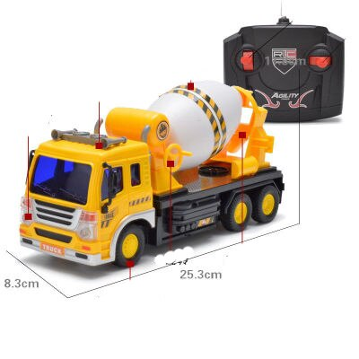 1:16 Remote Control Car 4 Channels Sanitation Car Garbage Truck With Front Lamp Model New Car Toy Car Christmas Gift